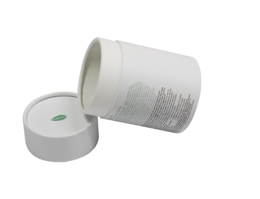 White Round Paper Box Supplier